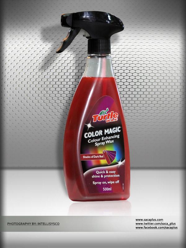 Turtle Wax Color Magic Spray Wax Dark Red